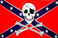Флаг Конфедерации с черепом