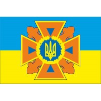 Флаг ДСНС України