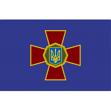 Настольный флажок НГУ Национальная Гвардия Украины