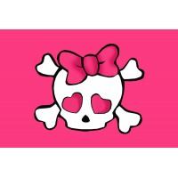 Прапор Hello Kitty піратьский