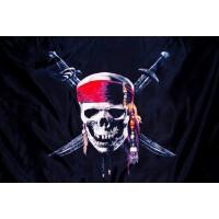 "Флаг Пиратский ""Карибы"""