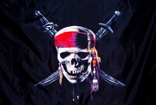 пиратский флаг фото