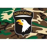 Флаг 101 десантной дивизии США (камуфл)