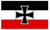 Флаг гюйс Кайзерлихмарине Флаг флота Германии