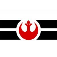 Прапор Повстанський Альянс (Зоряні Війни) Варіант