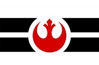 """Флаг Повстанческого Альянса """"Звездные Войны"""""""