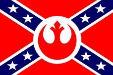 Флаг Союза Повстанцев - Star Wars Rebel Confederation Flag