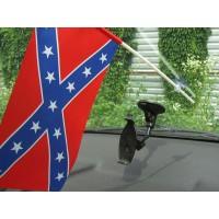Конфедерация флажок в авто