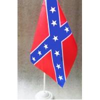 Конфедерація прапорець настільний