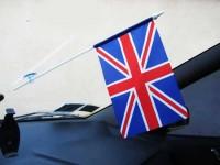 Флаг Великобритании в авто