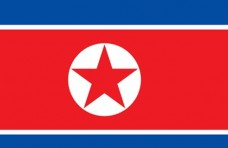 Флаг КНДР (Северная Корея)