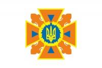 Флаг ДСНС України - флажна сітка