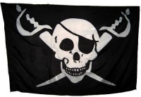 Прапор з черепом і шаблями
