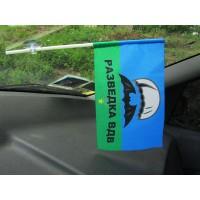 Автомобильный флажок разведка ВДВ