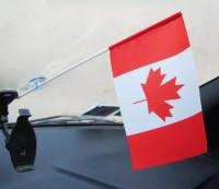 Прапорець в авто Канада