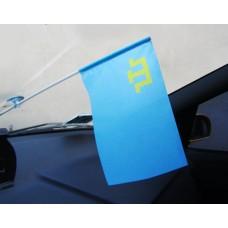 Автомобільний прапорець кримськотатарський