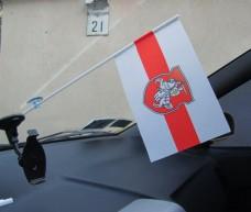 Прапорець в авто Погоня Білорусь