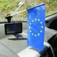 Автомобильный флажок Евросоюза