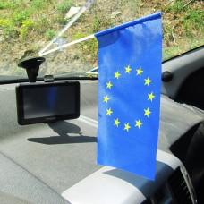 Автомобільний прапорець Євросоюз