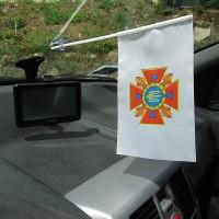 ДСНС України флажок в авто