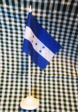 Флаг Гондураса настольный
