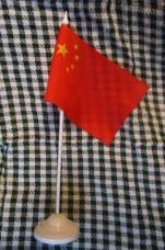 Купить Флаг Китая настольный в интернет-магазине Каптерка в Киеве и Украине