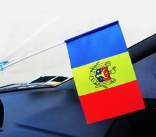 Авто флажок Молдовы
