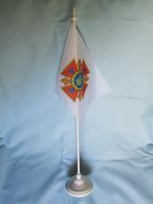 Купить Флаг ДСНС України флажок настольний в интернет-магазине Каптерка в Киеве и Украине