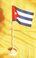 Куба настільний прапор