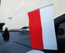 Автомобильный флажок Польша