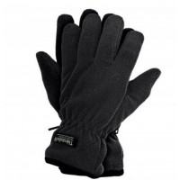 Перчатки теплые флисовые REIS с утеплителем Thinsulate черные