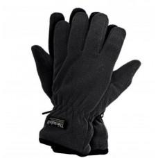 Перчатки теплые флисовые REIS с утеплителем Thinsulate черные.