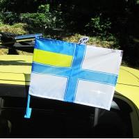Автофлаг ВМСУ з кріпленням на авто