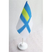 Настольний прапорець ВМСУ АКЦІЯ 20%
