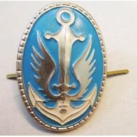 Кокарда морская пехота Украины (Золотой вариант кокарды)
