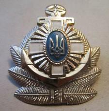 Кокарда ВМС Украины алюм.