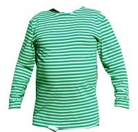 Тільняшка зелена з рукавами