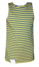 Купить Жовто-блакитна майка тєльняшка в интернет-магазине Каптерка в Киеве и Украине
