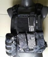 Разгрузка-плитоноска в камуфляже KRYPTEK с отделениями для бронеплит АКЦИЯ 20%