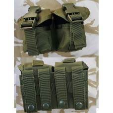 Подсумок для 2х гранат на молле олива GFC Tactical