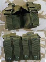 Подсумок для 2х гранат на молле олива GFC Tactical