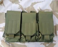 Платформа 3 подсумка для магазинов олива GFC Tactical