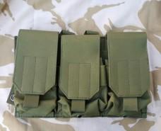 Купить Платформа 3 подсумка для магазинов олива GFC Tactical  в интернет-магазине Каптерка в Киеве и Украине