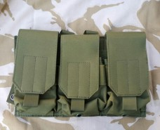 Платформа 3 подсумка для магазинов олива GFC Tactical АКция 30%