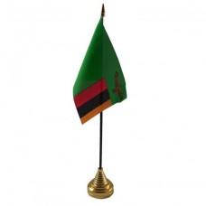 Замбія настільний прапорець