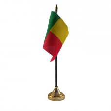Бенін настільний прапорець