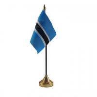 Ботсвана настільний прапорець