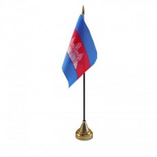 Купить Камбоджа настільний прапорець в интернет-магазине Каптерка в Киеве и Украине