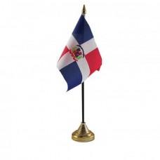 Купить Домініканська Республіка настільний прапорець в интернет-магазине Каптерка в Киеве и Украине