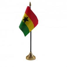 Купить Гана настільний прапорець в интернет-магазине Каптерка в Киеве и Украине